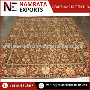 Best Quality Traditional Design Hand Knotted 100 Wool Rug