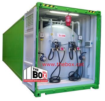 mobile tankstelle buy container kraftstoff stationen. Black Bedroom Furniture Sets. Home Design Ideas