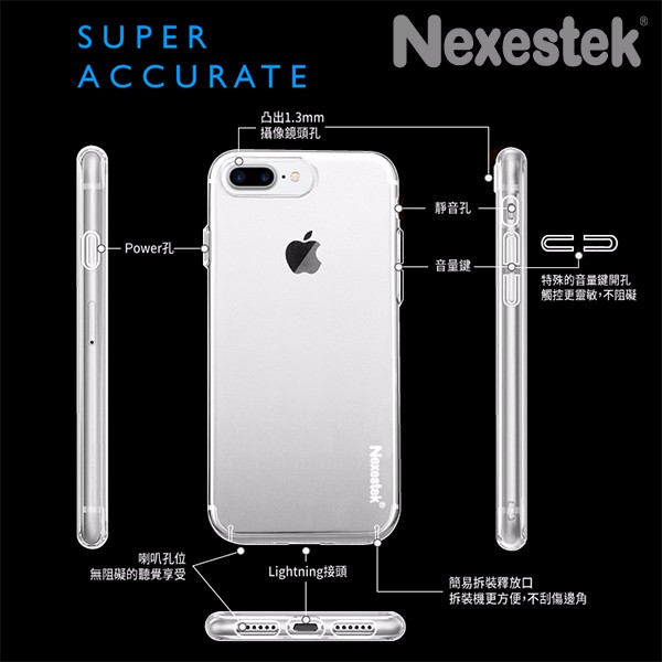 New product for iphone7&7PLUS, lightweight, Ultra Thin PC Clear Transparent