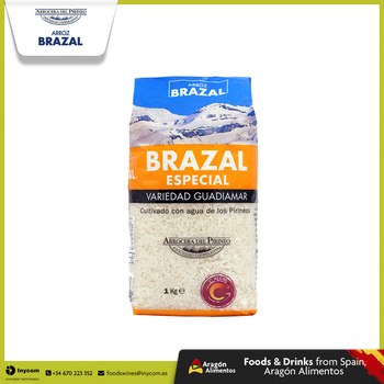 Spanish White Rice Medium Grain ideal for Paella, Sushi and baked rice dishes Wholesale | Guadiamar | Arrocera del Pirineo