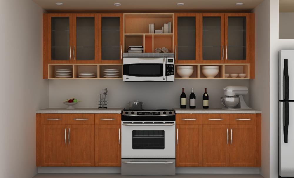 Good Quality Kitchen Furniture Set Hanging Wall Cabinet Design