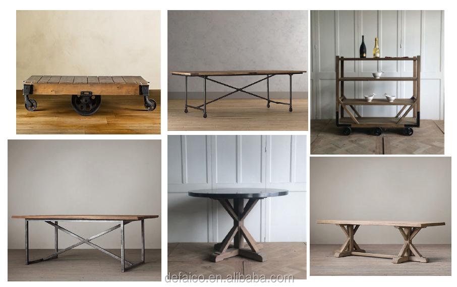 Rustico stile industriale salotto tavolino con ruote buy tavolino con ruote rustico tavolino - Ruote per mobili vintage ...