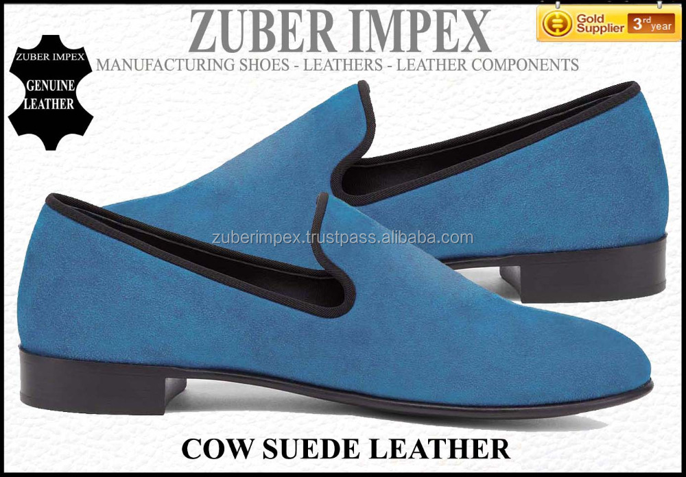 Suede Leather Loafers - Stylish VELVET & SUEDE Casual Loafers - LUXURY SHOE MANUFACTURER with factory