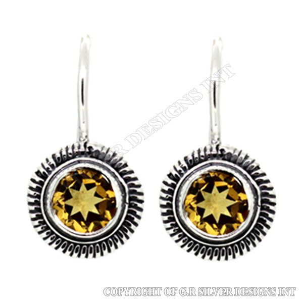 citrine earrings sterling silver,bezel gemstone earrings wholesale,sterling silver chandelier earrings wholesale