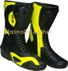 VR46 Valentino Rossi style motorbike leather boots