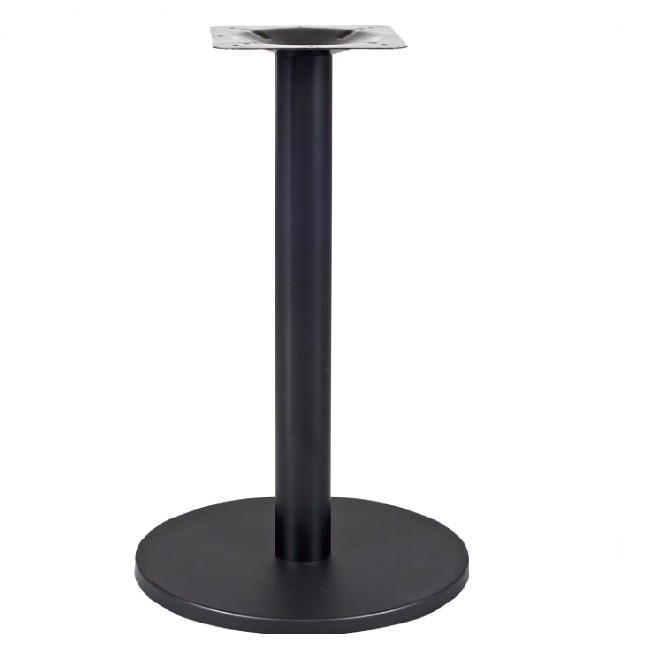 factory industrial style cast iron metal dining table base leg powder coated pedestal modern bases room