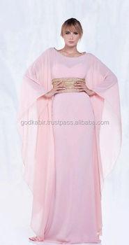 7614cef06fe7c Nouvelle Arrivée Caftan Marocain Femmes Arabe Plage Robe Longue D été. Arabe  Caftan