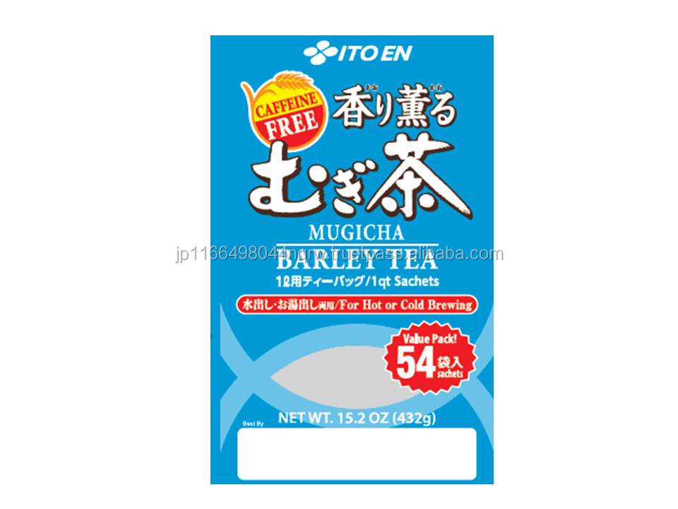 Japanese blended barley tea and ceremonial matcha in value pack