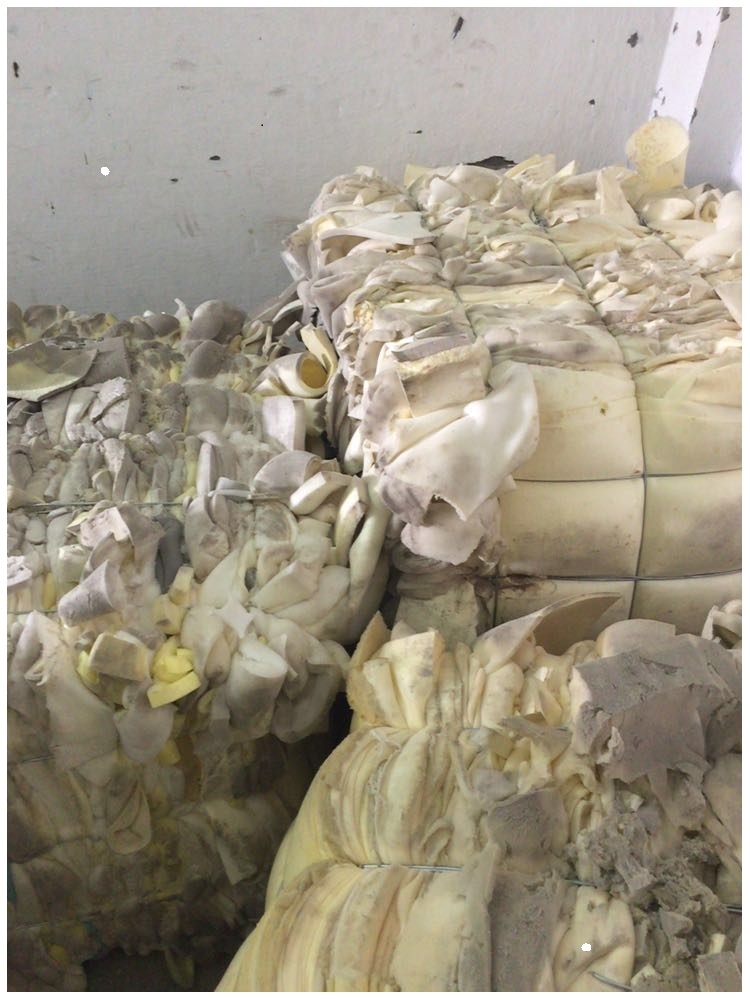 High quality Polyurethane PU foam scrap in bales