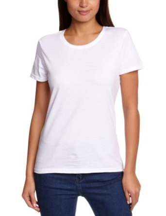 O Neck Plain Cotton Women T-shirts In Different Colors Wholesale ...