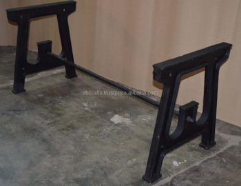 Superb Cast Iron Classic Vintage Design Table Legs