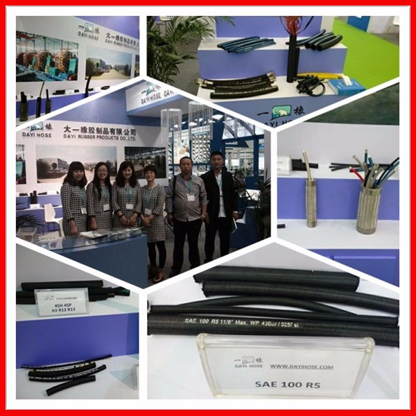 2019 Dayi Hot Selling Oil Suction And Discharge Epdm Rubber Hose  Gasoline,Oil,Petroleum Based Hydraulic Hose - Buy Epdm High Temperature  Rubber