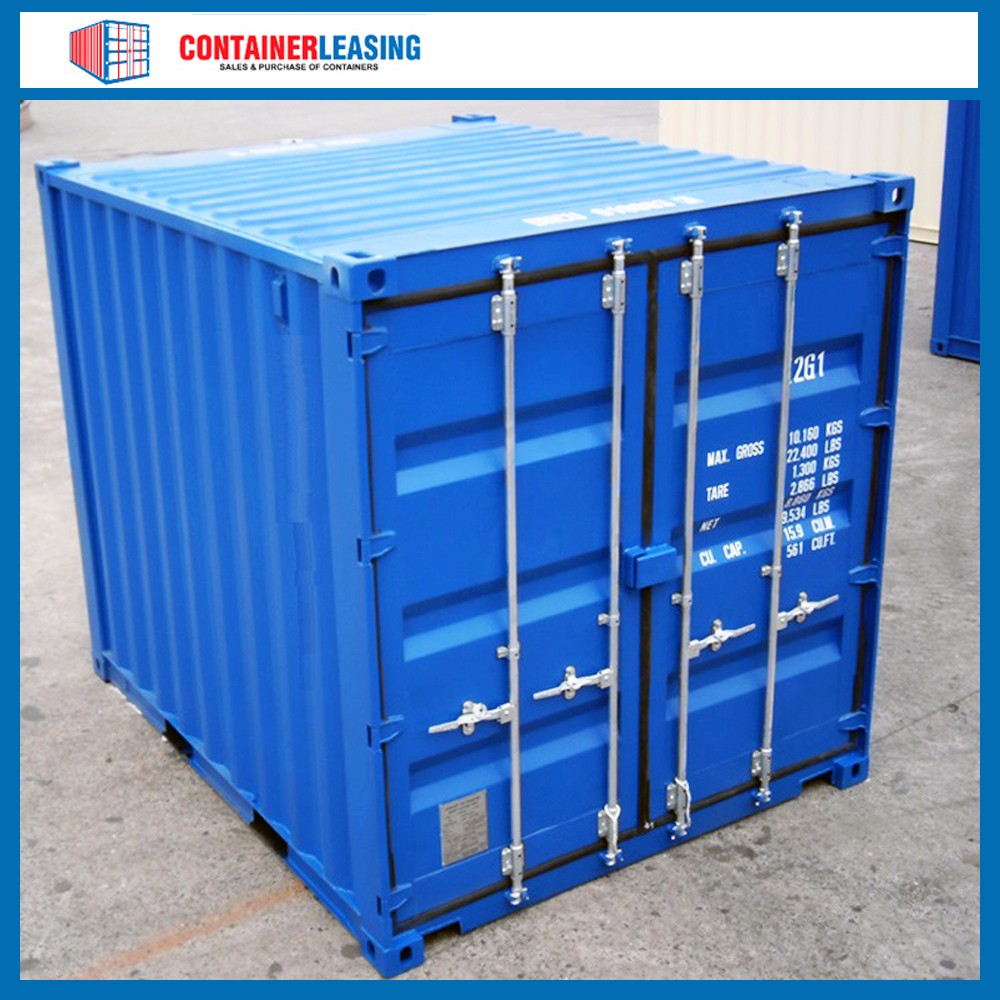 New 10 foot container for sale 10 39 dv double door buy for Cheap cargo containers