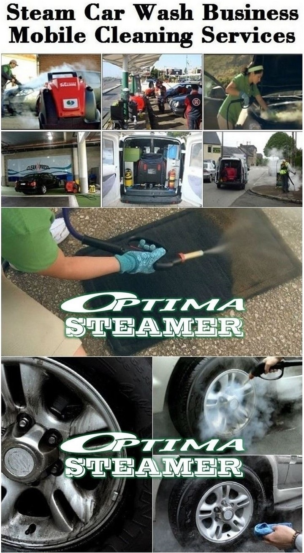 Optima Steamer Steam Car Wash Business Buy Steam Car