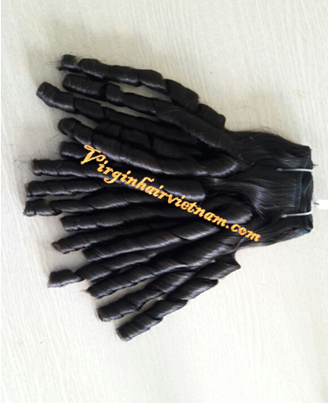 Wholesale competitive price remy hair weft, raw human hair extensions, vietnamese funmi hair
