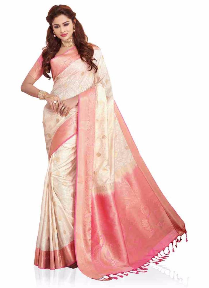 Encuentre el mejor fabricante de sari blanco y sari blanco para el ...