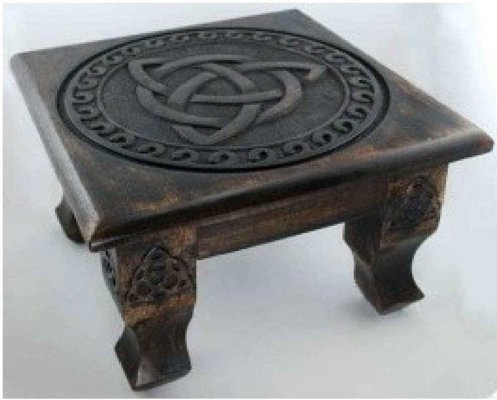 Wooden Square Alter Tables-05