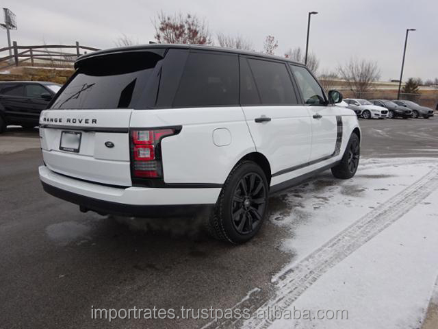 Export/Import Ready 2017 Land Rover Range Rover 5.0 V8 Supercharged LWB