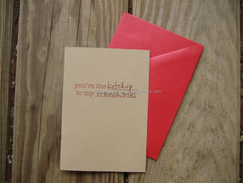 Custom printed greeting cards made from kraft papers for greeting custom printed greeting cards made from kraft papers for greeting card stores invitations events m4hsunfo