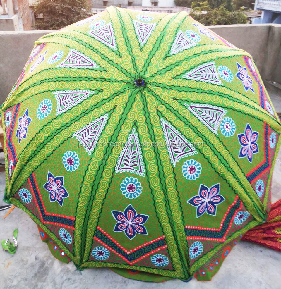 Exotic Indian Style Vintage Garden / Beach Parasol Umbrella   Buy Exotic  Indian Style Vintage Garden / Beach Parasol Umbrella,Sun Shade Umbrella,Sunshade  ...