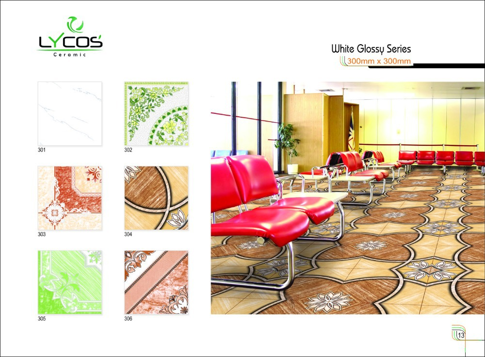 Latest Collection Digital Ceramic Floor Tiles 40x40cm