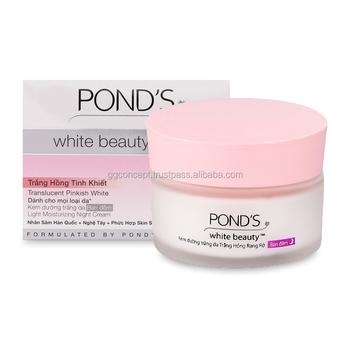 Ponds White Beauty Night Cream For All Skin Types 30g ...
