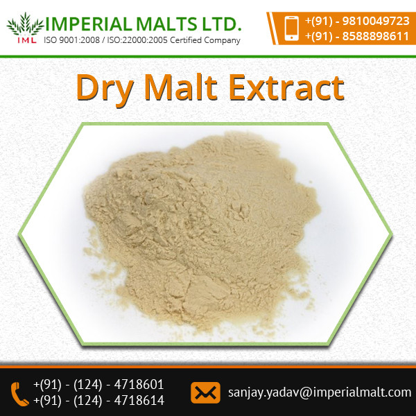 Multi-Purpose Use Dry Malt Extract for Wholesale Buyer