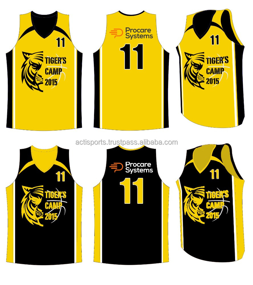 2018 Sublimated Customized Basketball Uniforms Design Camo