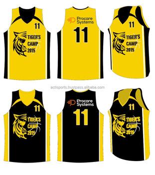 ee6cdb6be5e 2018 Sublimated Customized Basketball Uniforms Design