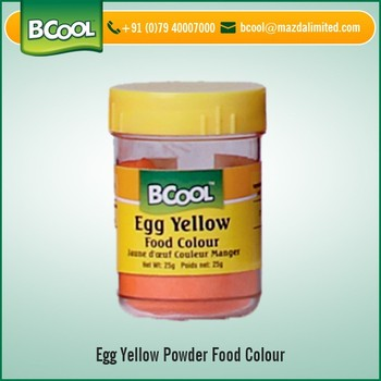 Widely Used Egg Yellow Food Color Powder Available For Bulk Purchase ...
