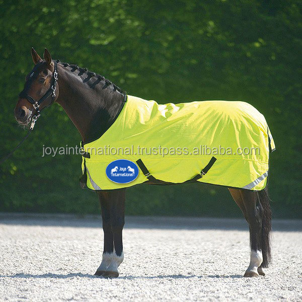 horse winter rugs 420 dnr yellow color