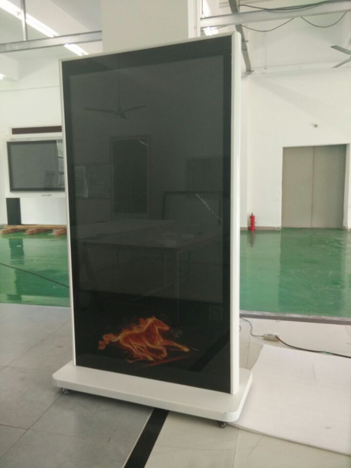 P4 Indoor Advertising Display Screen Board Player Product,Digital Signage Floor Led Display Stand Player