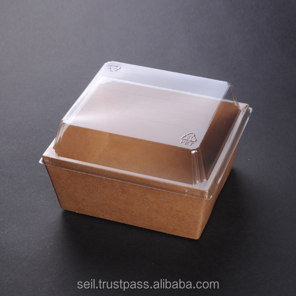 Sl P146 Food Grade Paper Box Kraft Paper Food Container