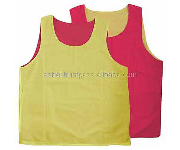 Football Training Mesh Vests,Soccer & Football Training Vest Bibs ...