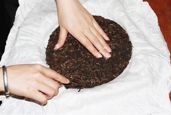 40pcs China Yunnan Chang Yun Tea Herbal lotus leaf tea cooked Pu'er mini  tuo mellow taste sweet