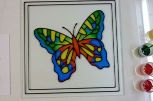 Glass Mirrow Decoration Cutting Glass Stained Glass Cnc