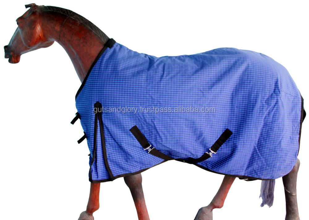 Horse Canvas Rug With Filling View