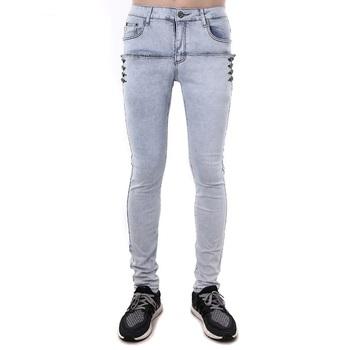 37e4106612 Primavera y verano hombre coreano Jeans de diseñador marca Super ajustados  pantalones Denim para hombre