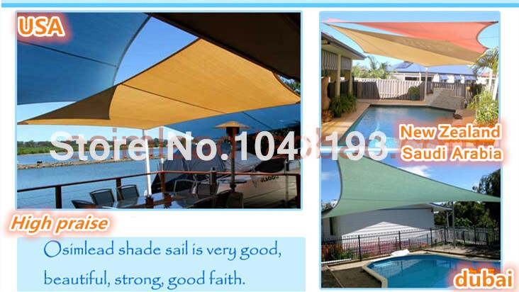Home & Garden Sun Shade Sail Fabric 1.5m Wide Pu Polyester Uv 100% Waterproof Cloth Lining 160grm Outdoor Plain Canvas 1000d Fabric Gazebo Shade