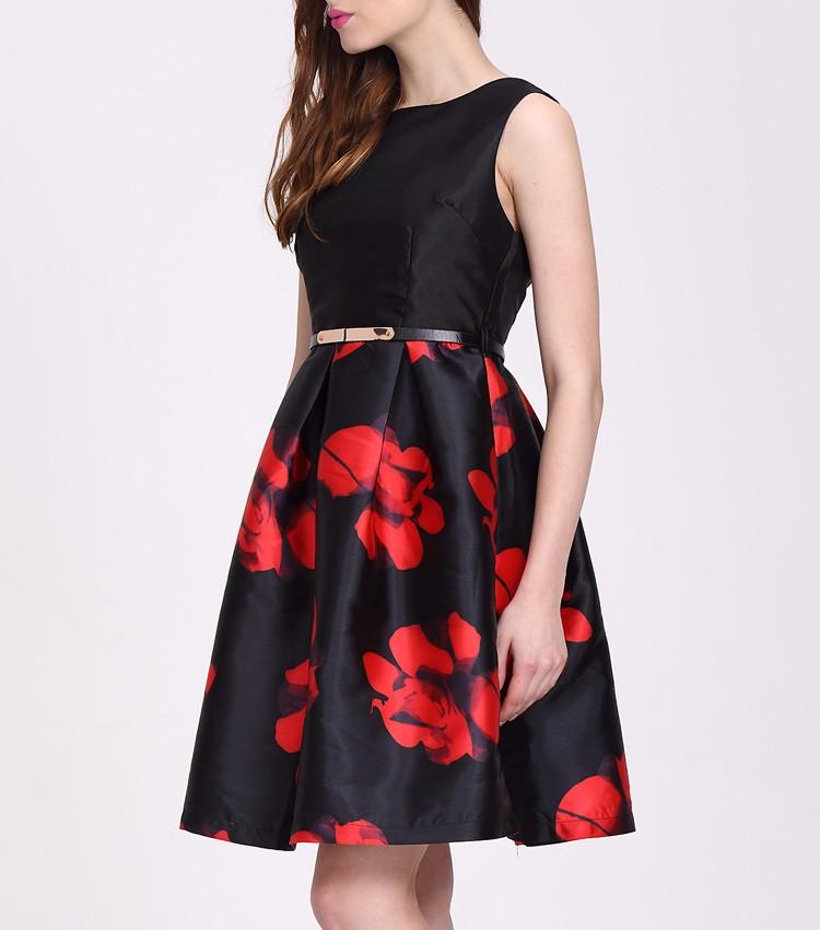 83d50b869 Último vestido casual diseño impreso de tela para el vestido combinaciones  de color ...