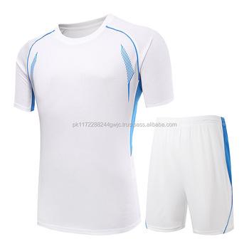 7916d3572 Wholesale Blank Football Jerseys Team Logo Soccer Uniform Custom Logo Design  Latest cheap Football Jersey