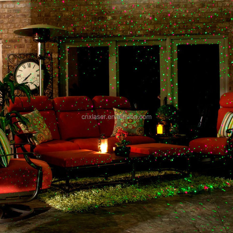 red dynamic starry multi mode green in with outdoor projector sensor christmas light floureon laser lights optional built itm show remote lawn firefly wireless lighting