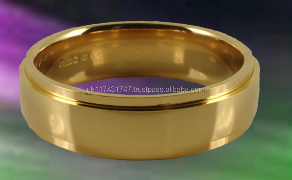 Swade 24 carat Gold wedding ring/band