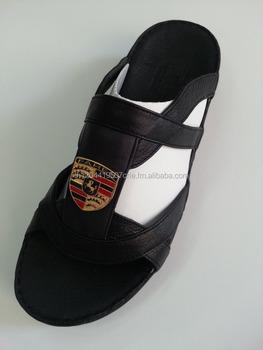 Chaussures Cuir Véritable Homme On La Pantoufles Product Main Arabe Buy Arabes À En Sandales 43LRj5A