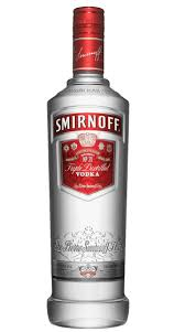 Smir - Off Red Vodka 1000ml