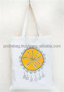 Handled canvas tote bags customized logo - Vietnamese cotton factory