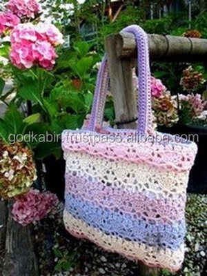 Crochet bag PATTERN only, crochet tote pattern, crochet sack pattern
