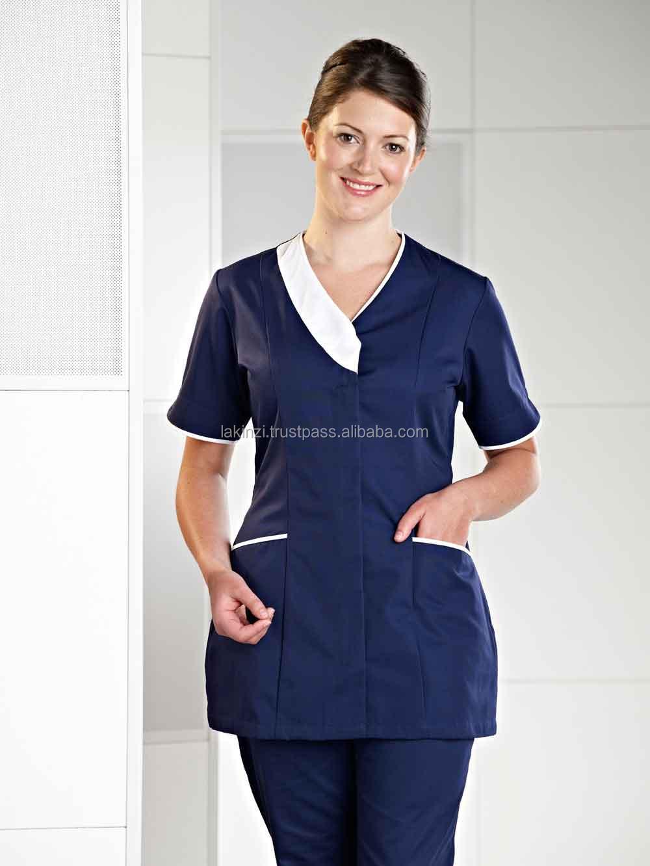 Wholesale beautiful salon spa uniform for beautician buy for Spa uniform alibaba