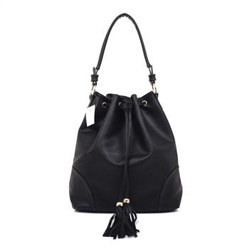 3c326cc0960 Wholesale Women Faux Leather Bucket Bag Girls Handbag Ladies Drawstring Bag  - Buy Ladies Stylish Bags,Cheap Drawstring Bags,Ladies Fancy Bags Product  ...