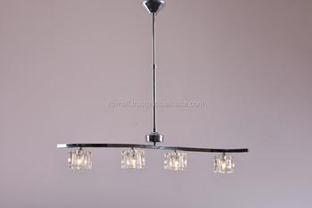 Modern Ceiling Gl Ice Cube Light